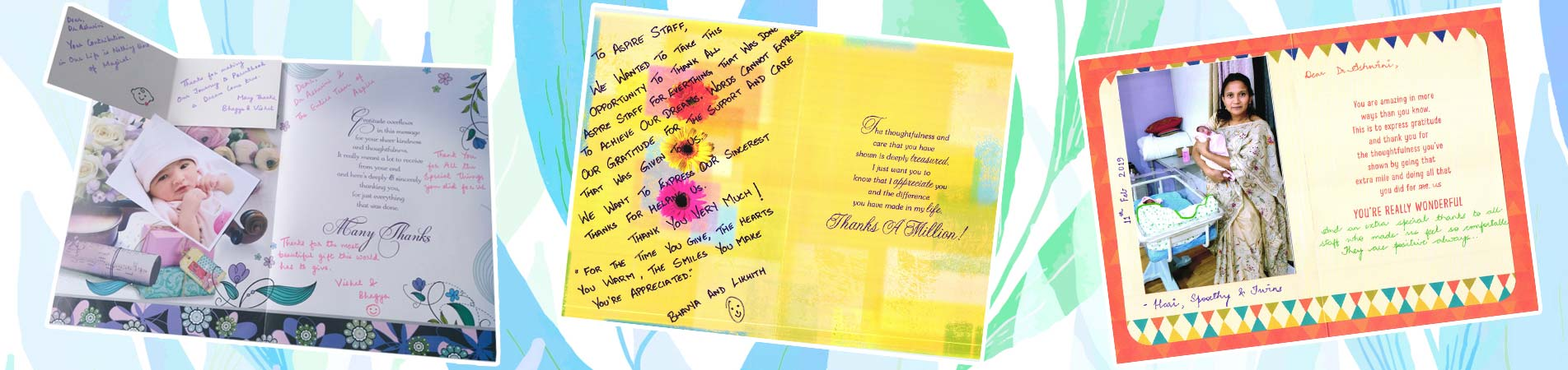Happy Patients Greeting Cards